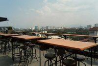 Vesper Sky Bar & Lounge, De Paviljoen